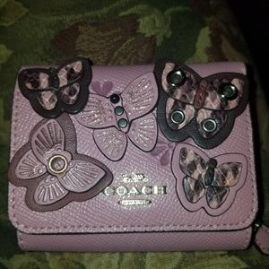 Coach Butterfly wallet